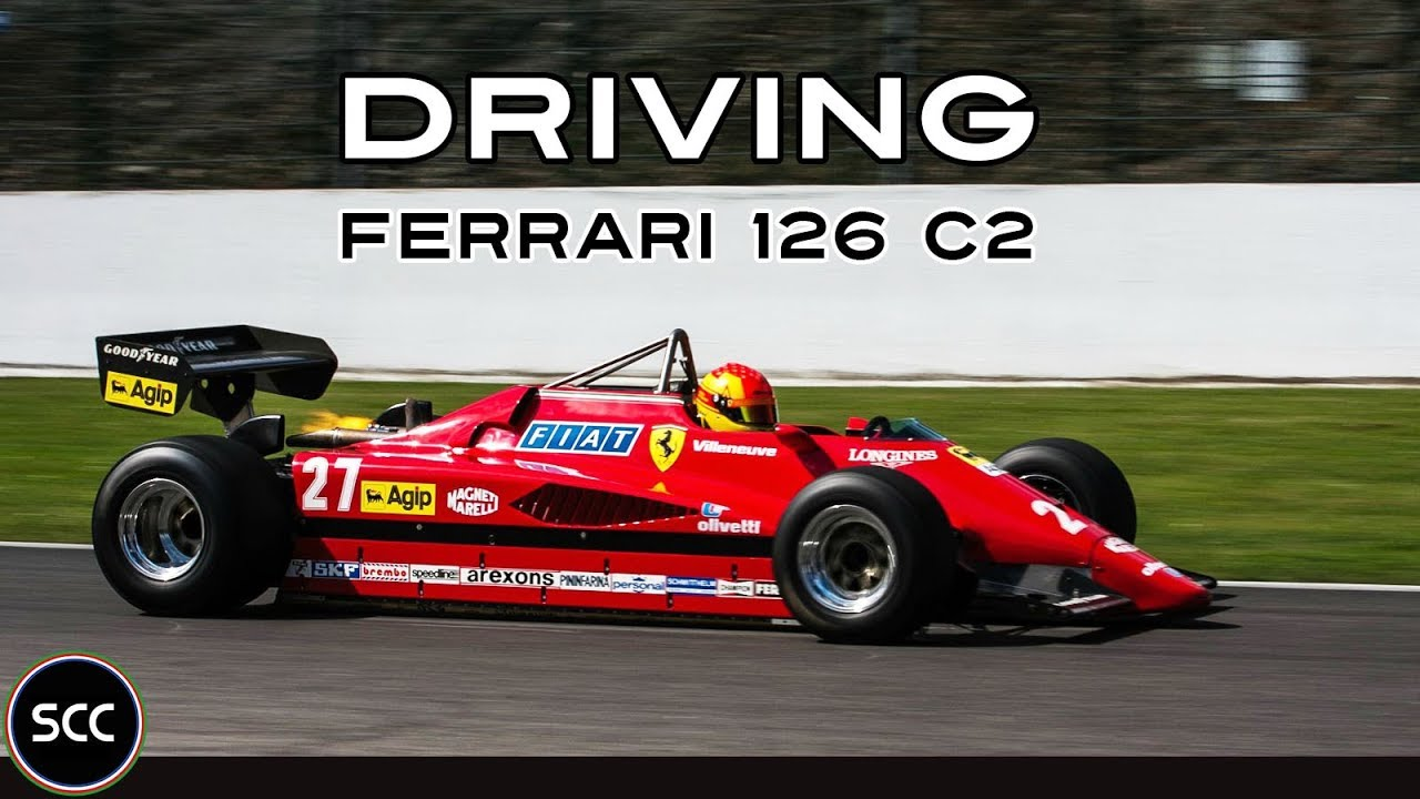Ferrari 126 C2 Gilles Villeneuve F1 Modena Trackdays