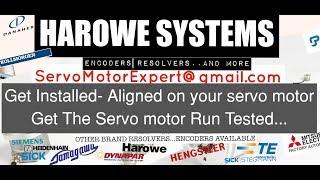 Harowe Encoders Align Adjust Servo motor Repair India/UAE