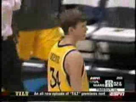 Cisco Garcia's beats Marquette in 2005