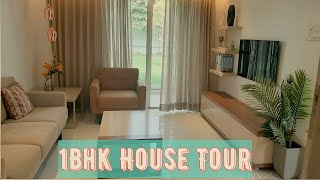 1bhk Indian House Tour|| New 1 Bhk Apartment Tour|| 1 Bhk Flat With Interior