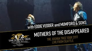 U2 feat. EDDIE VEDDER and MUMFORD & SONS - MOTHERS OF THE DISAPPEARED (IEM AUDIO - MULTICAM HD)