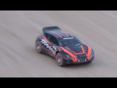 Traxxas Rally 1/10 VXL @ Amazing Track [OffRoad Track]
