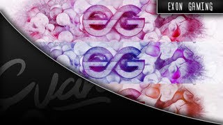 Exon Gaming Background | Speed Art | By Evan
