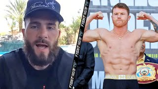 """CANELO CANT F*** WITH ME!"" CALEB PLANT ON CANELO FIGHT NEXT; REACTS TO SAUNDERS COMPARISONS & MORE"