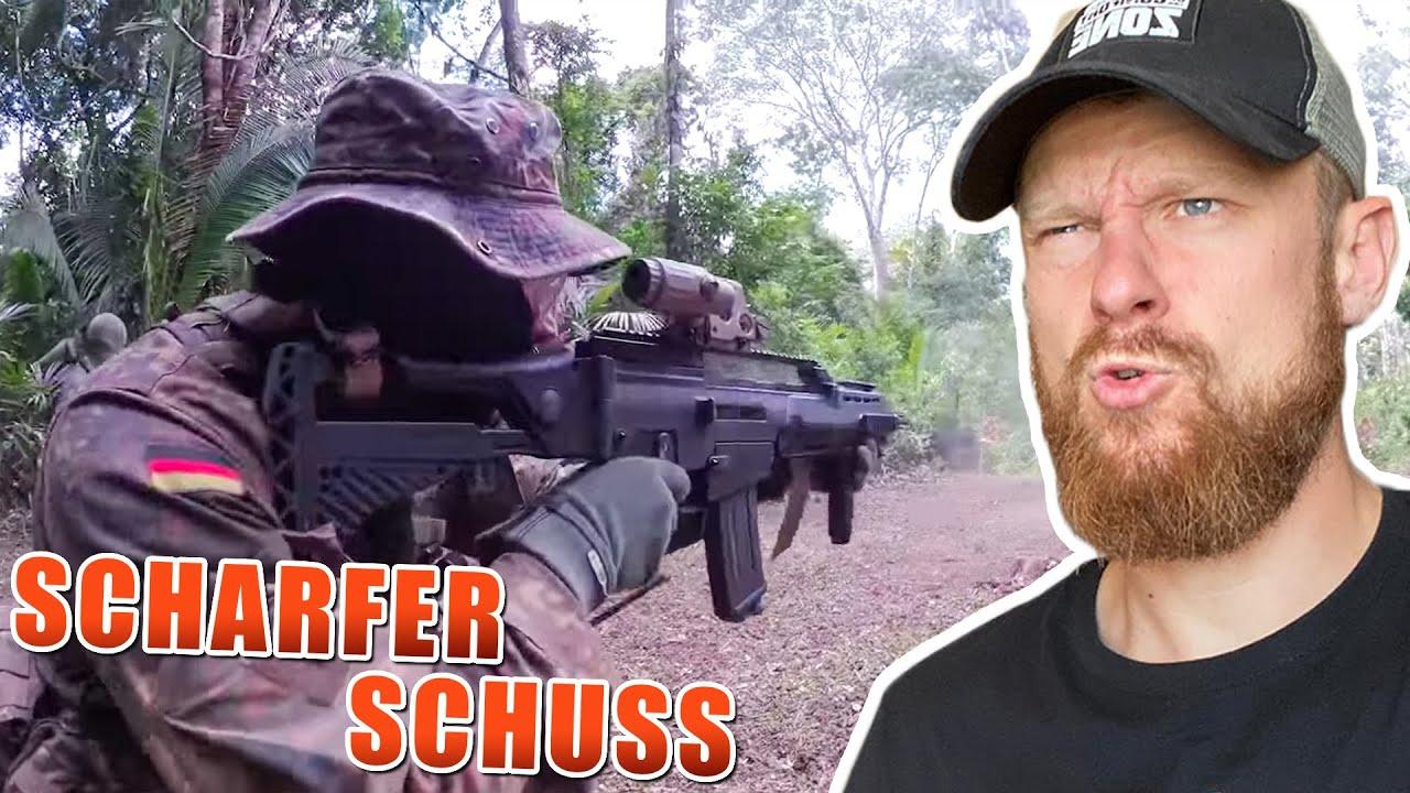 Scharfer Schuss im DSCHUNGEL - KSK Ausbildung Bundeswehr   Fritz Meinecke