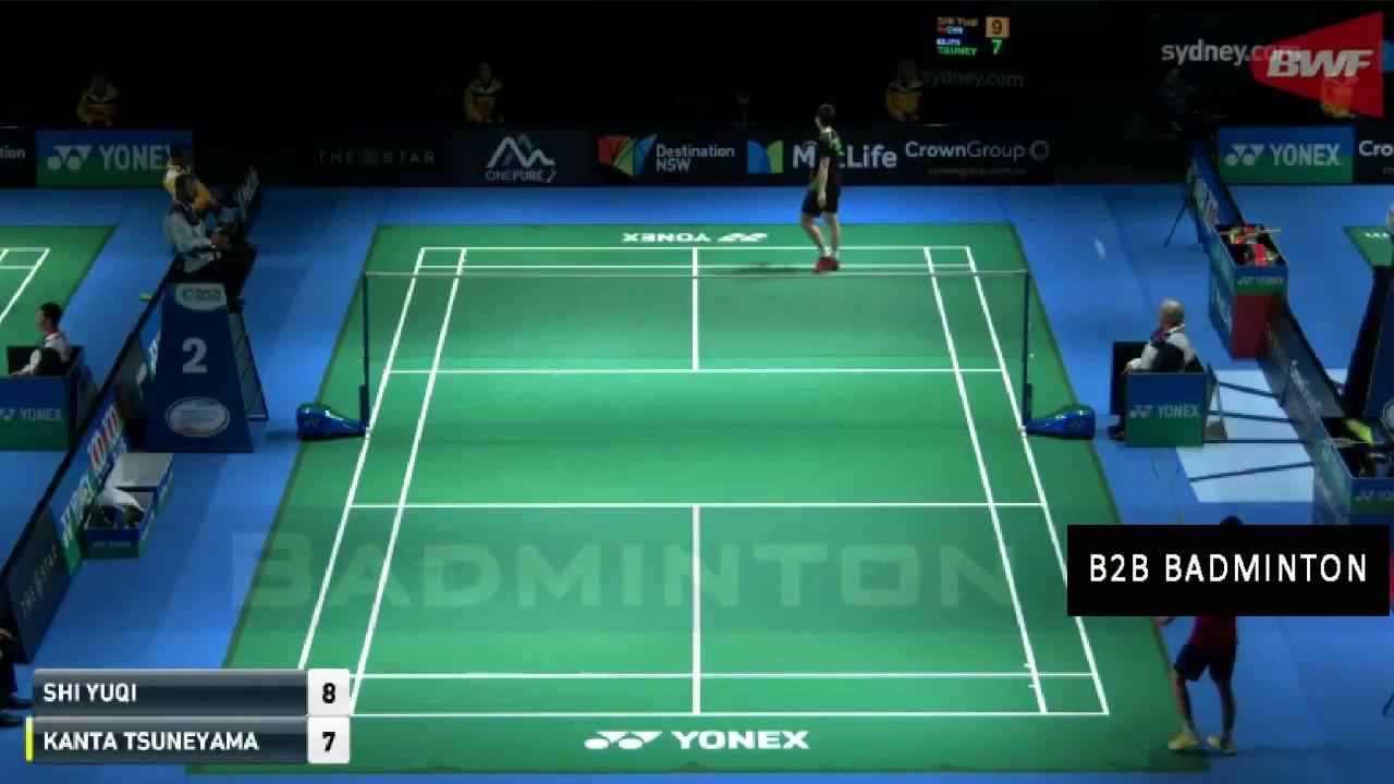 SHI Yuqi vs Kanta TSUNEYAMA Badminton 2017 Australian Open