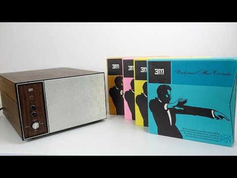 Retro Tech: This 1960s BGM Machine played the Biggest Cassettes ever made