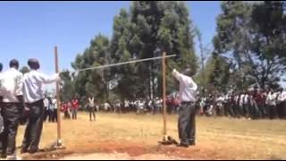 Hochsprung in Kenia