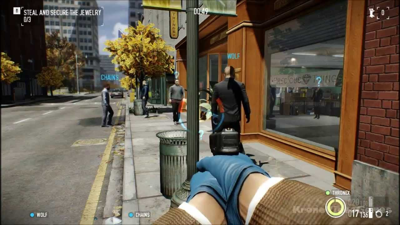 Payday 2 Gameplay (PC HD) - YouTube