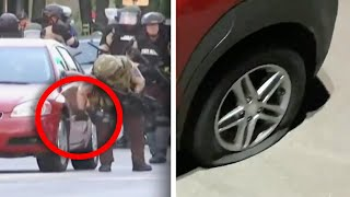 Police in Minneapolis Slash Dozens of Parked Cars' Tires