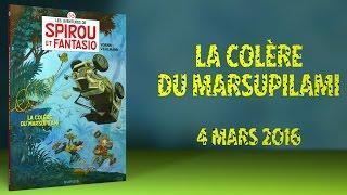 bande annonce de l'album La Colère du Marsupilami