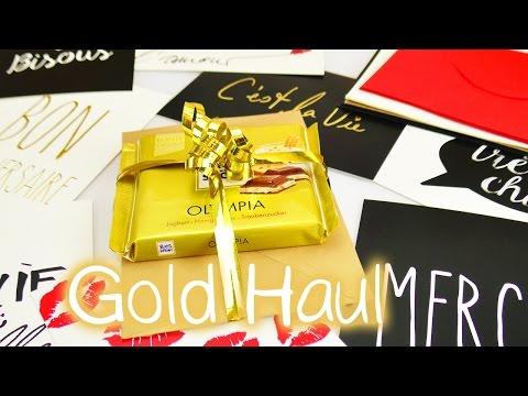 DIY Inspiration Challenge #93 | GOLD HAUL | Kathis Challenge | DIY Idee Sonntag Challenge