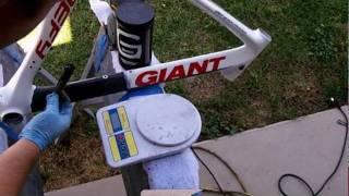 Carbon Fiber Bike Repair- Video Tutorial 1 of 2