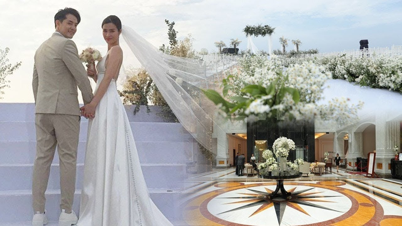 TOÀN CẢNH đám cưới Đông Nhi - Ông Cao Thắng: Dàn sao Việt CỰC KHỦNG, không gian SIÊU LÃNG MẠN!