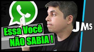SÉRIE CURIOSIDADES SOBRE O Whatsapp que você NÃO SABIA