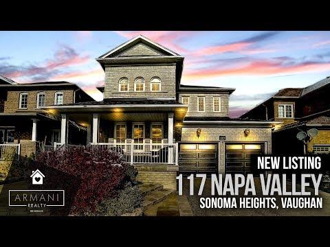SOLD! 117 Napa Valley Blvd In Woodbridge Vaughan! (Ontario, Canada)