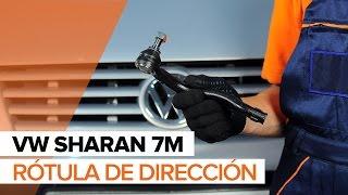 Cómo cambiar la rótula de dirección en VW SHARAN 7M INSTRUCCIÓN   AUTODOC
