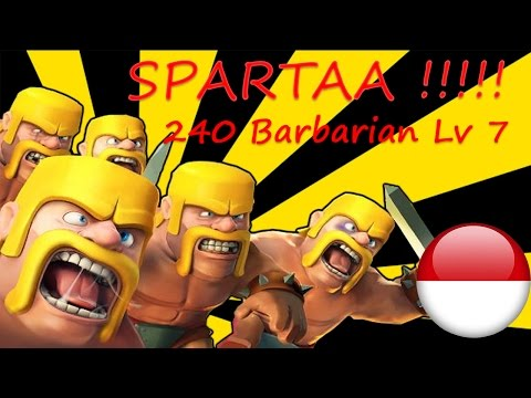 Pasukan SPARTAN !!! - Clash Of Clans #3 - Indonesia
