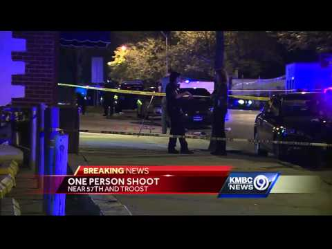 Shooting at 57th Street, Troost Avenue injures 1