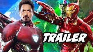 Avengers Infinity War Trailer - New Iron Man Armor Scenes Explained
