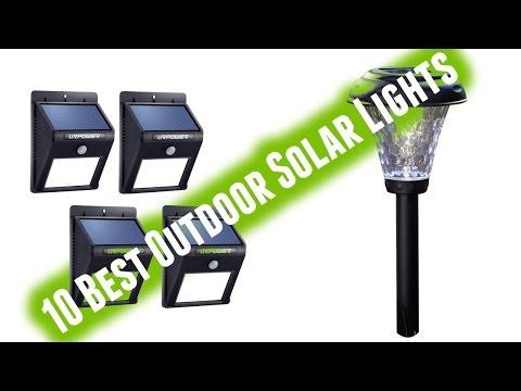Best Outdoor Solar Lights 2017