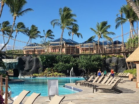 Hilton Waikoloa Village Grounds and Pools Tour-Big Island Hawaii