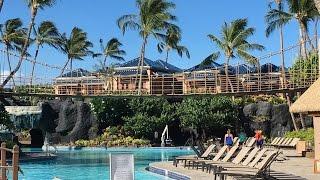 Hilton Waikoloa Village Grounds and Pools Tour-Big Island Hawaii