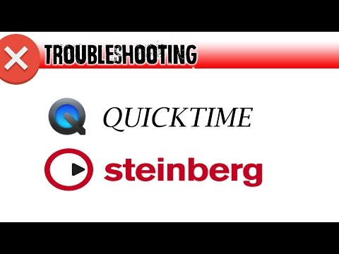 Cubase/Nuendo Video Engine Error (Quicktime)