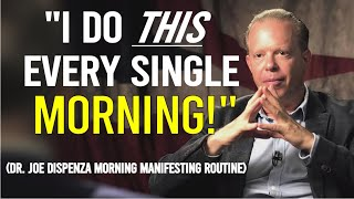 Dr Joe Dispenza Morning Law Of Attraction Routine (do the same!)