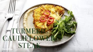 Turmeric Cauliflower Steak