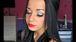 Holiday Pin-up Makeup Look!