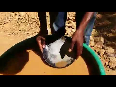 Real Gold Mining In Tanzania