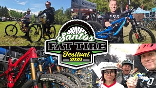 Santos Fat Tire Fest 2020 - Day 1 // Top of the Line $5,000-$10,000 Bikes Demo