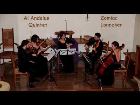"Zomiac Lonneker  ""Al Andalus Quintet"" Libertango"
