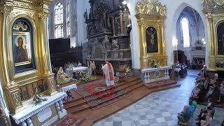 Homilia Ks. Artura Ważnego dla dzieci - 12 września 2019-Tydzień Maryjny w Tarnowskiej Katedrze