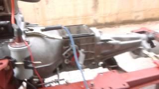 Prova Motore Fiat 1100 Special appena restaurato