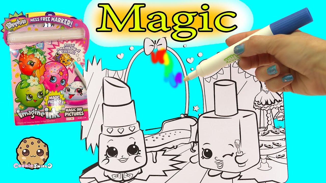 Disney Pixar Finding Dory Shopkins Imagine Ink Rainbow Color Pen Surprise Pictures