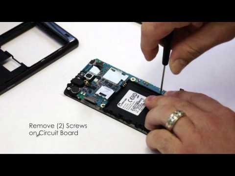 Samsung Infuse Screen Repair in 3 Minutes