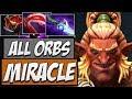 MIRACLE DOTA - Miracle Troll Warlord - ALL ORBS | Road to Dota 2 2018
