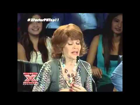 Kedebon Colim - The X Factor Philippines  2nd Live Performance Night (August 11, 2012)