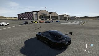 forza 6   all out call out meet   1200 hp f supra build 1 2 mile rolls drags more