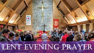 Lenten Mid-week, February 24 Worship Service