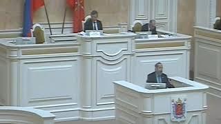 Смотреть видео Борис Вишневский об изменениях в закон о выборах губернатора Петербурга онлайн