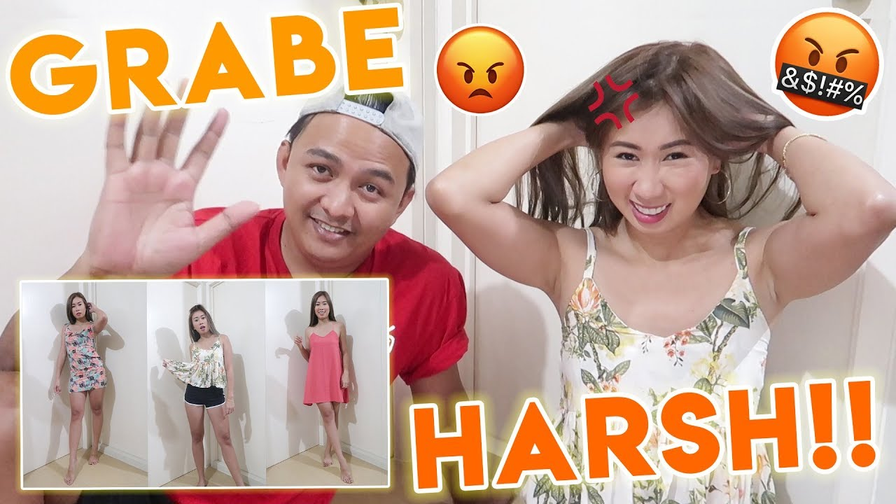 FIANCEE RATES MY OUTFIT! GRABE ANG HARSH! MURANG DAMIT TRY ON HAUL!
