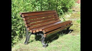 Садовая скамейка.БАРТЕР в столярке.Garden bench. Barter in the woodwork