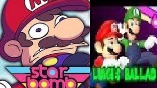 Repeat youtube video Luigi's ballad 2d version vs 3d version