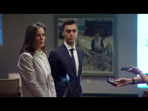 The Netherlands on conflict and hunger - Media Stakeout (24 May 2018)