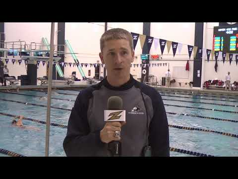 Women's Swimming and Diving - Coach Peresie Post Match 10/28/17