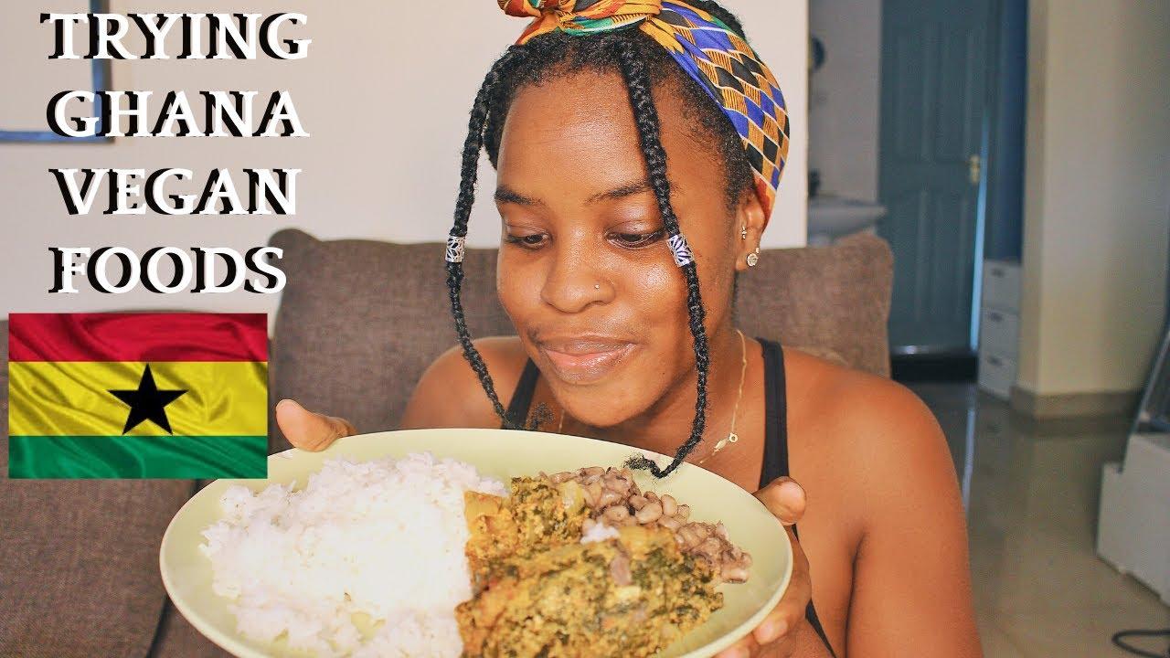 COOKING VEGAN AFRICAN FOOD | HOW TO COOK EASY GHANA VEGAN FOOD