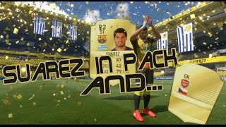 LUIS SUAREZ IN PACK AND .... FIFA 17 PACK OPENING #1